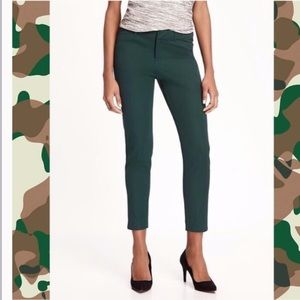 Forest Green Ankle Pants
